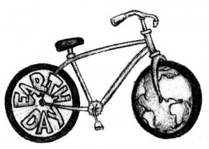 Make every day Earth Day by riding a bike!